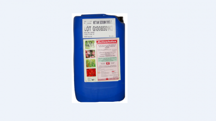 Metham sodium soil fumigant
