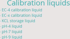 calibration liquids