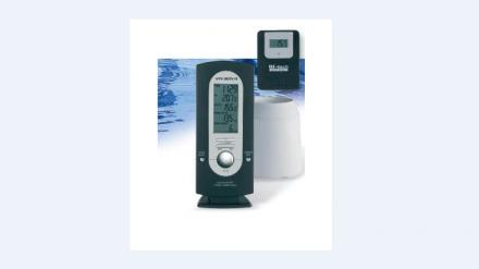 Digital rain/thermometer