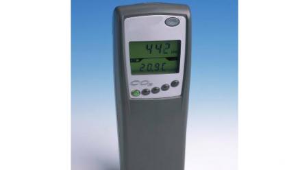 CO2/ temperature meter