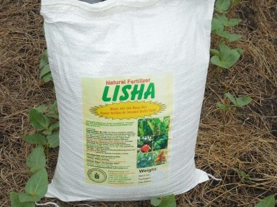 LISHA ORGANIC FERTILIZER COMPOST