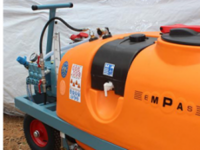 Empas Motorized sprayer